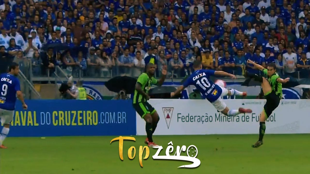 Os mais belos gols de voleio do Cruzeiro